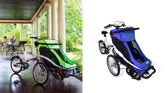 Ogromny Rowerem z maluchem. O alternatywach do fotelików rowerowych SJ18