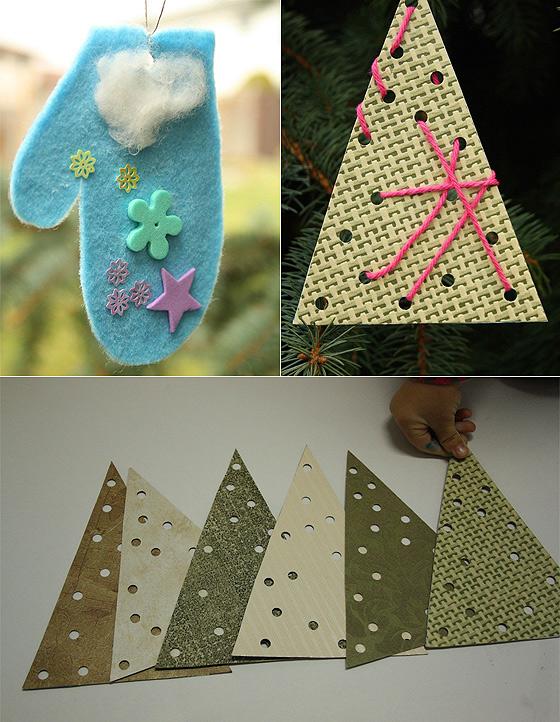 Magia świąt Ozdoby świąteczne Do Zrobienia Z Dziećmi