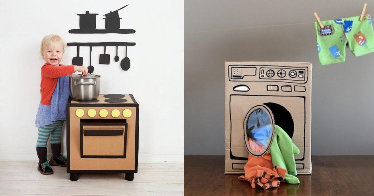 Zabawki kreatywnie  kilka pomysłów, jak zrobić coś z niczego -> Kuchnia Dla Dzieci Reklama Tv