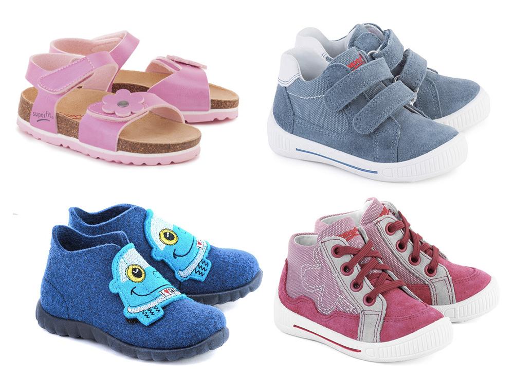 b37e102e Kolekcja marki Superfit zawiera obuwie dla dziewczynek i chłopców: buty  profilaktyczne, do nauki chodzenia, trampki, baleriny, półbuty i sandały.
