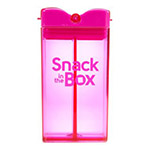 SNACK IN THE BOX Pojemnik na przekąski pink