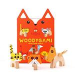KIPOD WoodyGami Drewniane zwierzątka origami