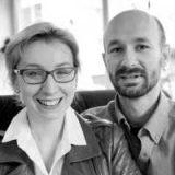Joanna Bylinka-Stoch i Michael Stoch